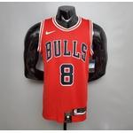 Regata Nba Chicago Bulls Silk (jogador) Lavine Camisa 8