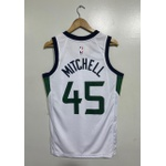 Regata Nba Utah Jazz Silk (jogador) Mitchell 45