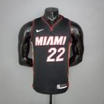 Regata Nba Miami Heat Silk (jogador) Camisa Butler 22