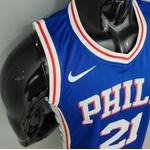 Regata NBA Philadelphia 76ers Silk (jogador) Joel Embiid 21