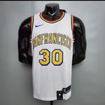 Regata NBA Golden State Warriors San Francisco Silk (jogador) Curry Camisa 30