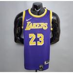 Regata Nba Lakers Silk (jogador) james Camisa 23