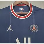 Camisa Paris Saint-germain Azul Messi Nº 30 Torcedor 21/22