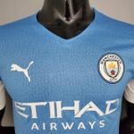 Camisa Manchester city versão jogador 21/22