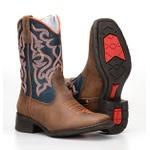 Texana Country Infantil Bico Quadrado