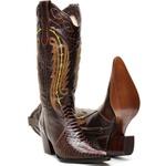 Bota Texana De Cano Longo E Couro Legítimo replica anaconda