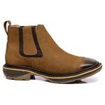 botina texana franca boots solado jump bico quadrado fb2273 caramelo