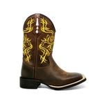 bota texana bico quadrado