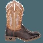 bota texana bico quadrado-arame