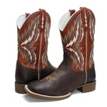 BOTA TEXANA COUNTRY MASCULINA BORDADA