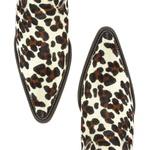 Botina Masculina Couro Estampado Leopardo