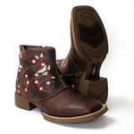 BOTA TEXANA FEMININA BORDADA FB78