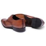 Sapato Social Oxford Cromo Argentino Caramelo