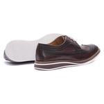 Sapato Masculino Brogue Derby Cromo Mouro 110018