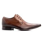 Sapato Social Masculino Oxford Couro Cromo Whisky 379
