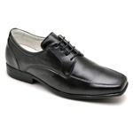 Sapato Casual Conforto Couro de Carneiro Preto 020