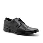 Sapatos Masculinos Social Estilo Italiano Cromo Preto 2000
