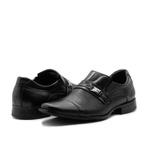 Sapatos Masculinos Social Estilo Italiano Cromo Preto 2001