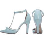 Sapato Scarpin Torricella Azul 66058D