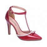 Sapato Scarpin Torricella Vermelho 66058F