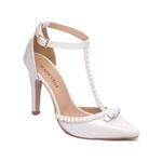 Sapato Scarpin Torricella Branco 66058G