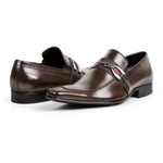 Sapato Social Masculino Couro Mouro 312