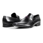 Sapato Social Masculino Couro Preto 365