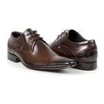 Sapato Social Masculino Couro Mouro 377
