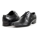 Sapato Social Masculino Couro Preto 377