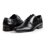Sapato Oxford Masculino Couro Preto 516