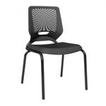 Cadeira Beezi 4 pés sem braço - Plaxmetal