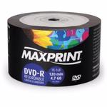DVD-R MAXPRINT 4.7GB /16X - LOGO C/50UN.