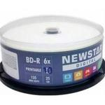BLU RAY NEWSTAR BD-R 25GB - PRINTABLE C/10UN.