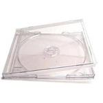 Box CD Acrílico Bandeja Transparente c/05un.