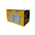 CAIXA DE SOM VCD360 PC/SMARTPHONE 8W BRANCO/VERDE - INFOKIT
