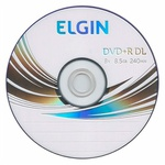 DVD+R DUAL LAYER ELGIN 8.5GB LOGO PINO C/25UN.