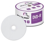DVD-R MULTILASER 4.7GB / 16X - PRINTABLE C/50UN.