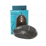 MOUSE ÓPTICO MULTILASER CLASSIC PRETO USB MO179