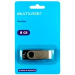 PEN DRIVE MULTILASER 8GB - PD587