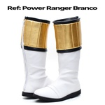 Bota Power Rangers Branco