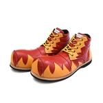 Sapato de Palhaço Amarelo/Vermelho Ref 519