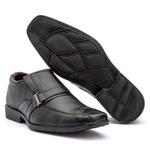 Sapato Social bico quadrado preto