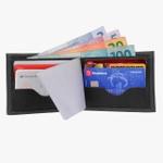 Kit 3 pares flórida(verm/pto/cinza)+carteira