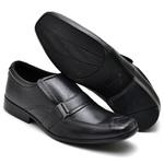 Sapato Social bico quadrado preto FT