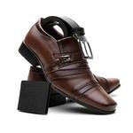 Sapato social 803 FC + CARTEIRA + CINTO