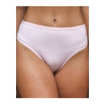 Kit 3 Calcinhas 17 Losangos Rosa Branco Exclusivo em Microfibra - ESTAMPADA
