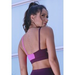 Top Fitness 99 Deluxe Meio Pink New Zealand em Microfibra - ROXO