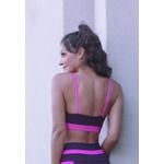 Top Fitness 90 Deluxe Pink New Zealand em Microfibra - ROXO