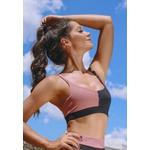 Top Fitness 99 Callas Meio Preto New Zealand em Microfibra - DIVERSOS