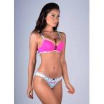 Conjunto Kit Base Larga Pink Melancia Branco Exclusivo em Microfibra - DIVERSOS